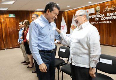 Los derechos humanos garantizan que los recursos públicos realmente lleguen al pueblo: Rutilio Escandón