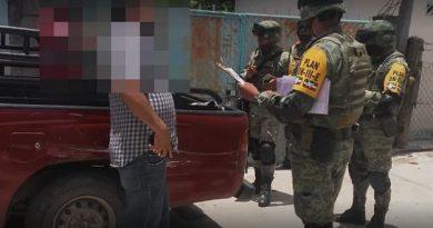 Detienen a guaruras de alcaldesa de Chicomuselo