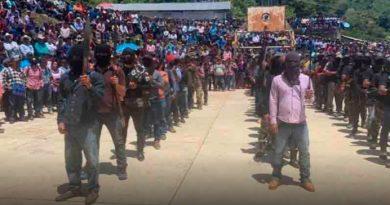 86 comunidades indígenas respaldan a autodefensas «El Machete» en Pantelhó