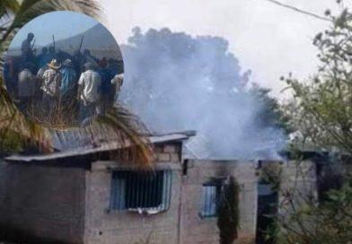 Balazos, una persona asesinada y quema de viviendas en Carranza