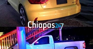 Policía ministerial es atacado a balazos en Tuxtla